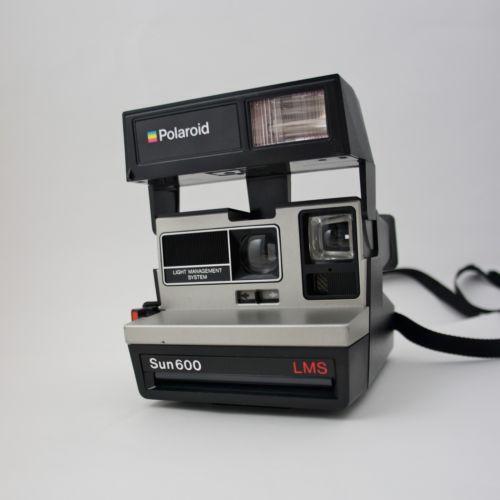 polaroid sun 600 cameras photo ebay. Black Bedroom Furniture Sets. Home Design Ideas