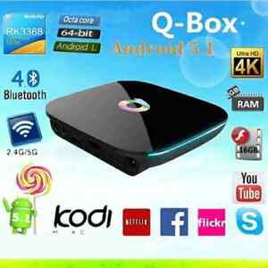 ANDROID TV (FREE TV SÉRIES FILMS...) Qbox 16go