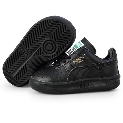 PUMA GV SPECIAL (TD) TODDLER 351721-02 Black Casual Shoes Sneakers Baby Size 8