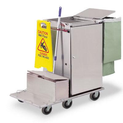 Royce Rolls F2436-lst1e Stainless Steel Wide-size Microfiber Housekeeping Cart