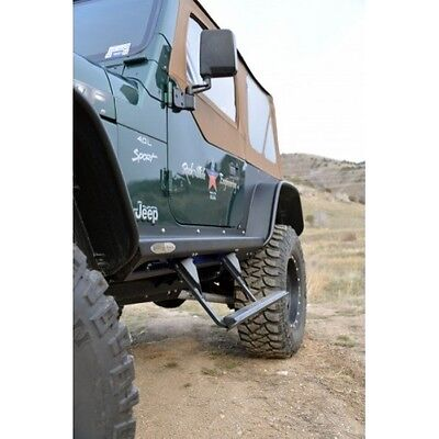 Rock Slide BD-SS-100-TJ Step Sliders For Jeep TJ