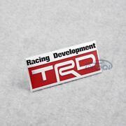 Red Toyota Emblem