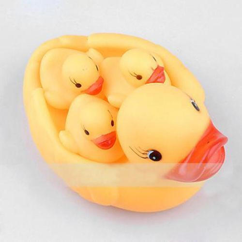 Inflatable Rubber Duck Baby Bath Tub