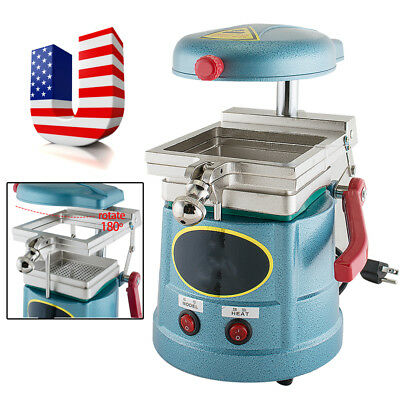 Usa 1000w Dental Lab Vacuum Former Forming Molding Machine Heat Thermoforming