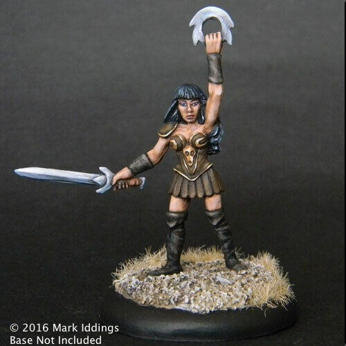 Female Gladiator #03-161 Classic Ral Partha Fantasy RPG Metal Figure