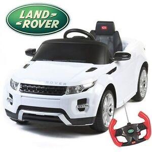 evoque range land rover licensed 12v kids ride on remote control car cars ebay. Black Bedroom Furniture Sets. Home Design Ideas