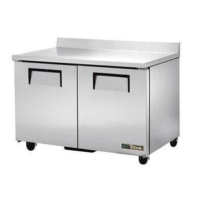 True Twt-48 Worktop Refrigerator 2 Door 12 Cu. Ft.