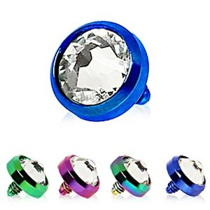 New-Anodised-Titanium-Dermal-Anchor-Dome-Head-with-Clear-Gem-4mm