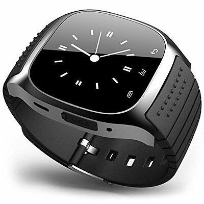 Bluetooth Smart Wrist Watch Phone Mate Touch Screen For Android Samsung Huawei
