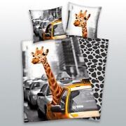 Bettwäsche Giraffe