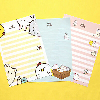 63sheets Cute Animals Letter Lined Writing Stationery Paper Pad – Lined Stationary Paper