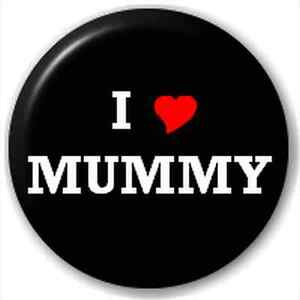 NEW-LAPEL-PIN-BUTTON-BADGE-I-HEART-LOVE-MUMMY