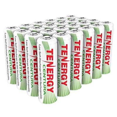 Discharge Nimh Battery - Tenergy AAA 800mAh Low Self Discharge Centura NiMH Rechargeable Battery AAA Lot