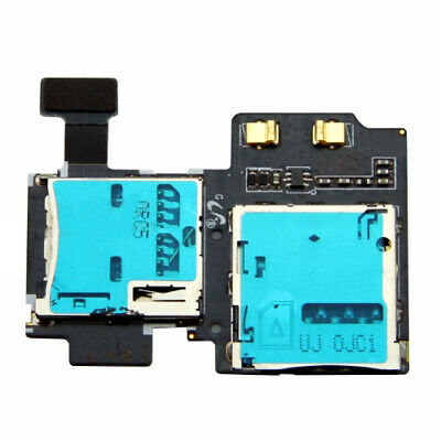 SD Sim Card Reader Holder Slot Flex Cable Ribbon For Samsung Galaxy S4 GT i9505 comprar usado  Enviando para Brazil