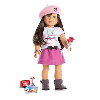 AMERICAN GIRL DOLL GRACE THOMAS WITH BERET WELCOME SET BRACELET AND BOOK