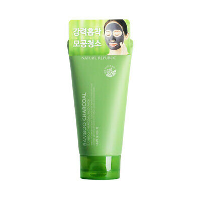 [NATURE REPUBLIC] Bamboo Charcoal Mud Pack - 150g