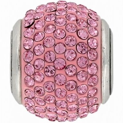 NEW Brighton CUPID'S KISS Pink Crystals Charm Bead  RETIRED Rare MSRP $29