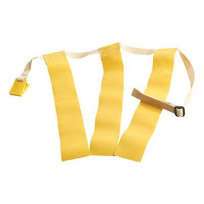 "Triple Threat Flag Football Belts - Triple Threat Flag Football Belt w/ Yellow Flags - MEDIUM: 28"" - 38"""