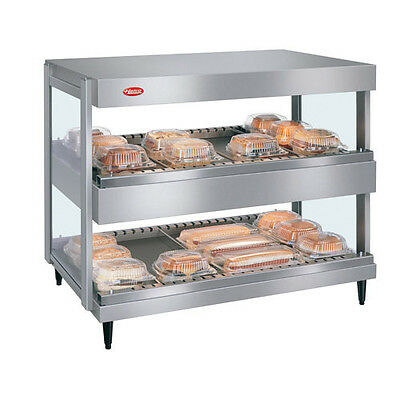 Hatco Grsdh-24d Display Warmer With 10 Divider Rods And 2 Horizontal Shelves