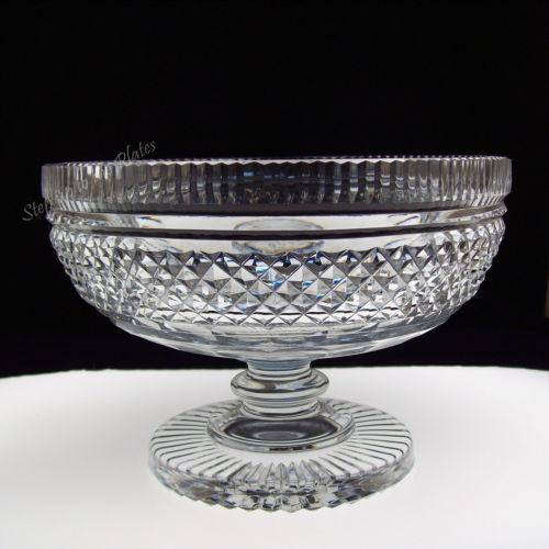 Crystal Compote Bowl Ebay