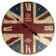 Union Jack Clock
