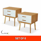 Bedside Tables with 2 Drawers