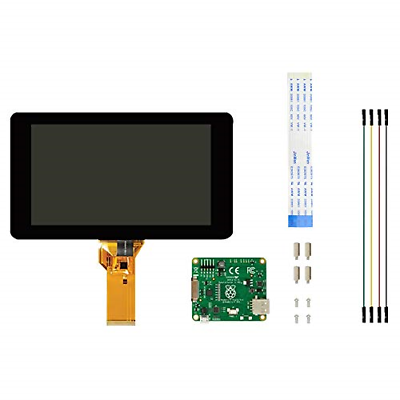 Official Raspberry Pi Foundation 7 Inches Touchscreen LCD Di