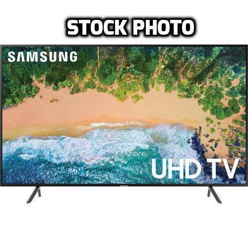 "Samsung 55"" Class LED NU7100 Series 2160p Smart 4K UHD TV with HDR UN55NU7100FXZA"