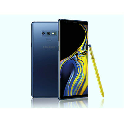 Samsung Galaxy Note 9 N960FD Dual 6GB + 128GB Ocean Blue ship from EU garanz