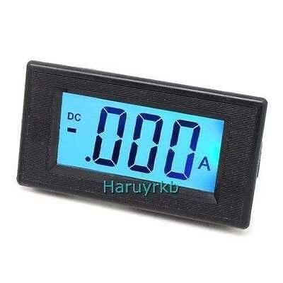 Lcd Dc 0-5a Digital Display Panel Ammeter Amp Ampere Meter In Shunt 12v Acdc