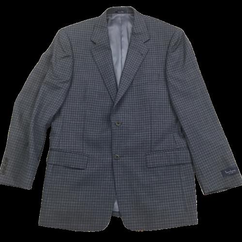 Turnbury Mens Blazer Sport Coat Suit Jacket Blue Size 40R 100% Wool NWT $295 Clothing, Shoes & Accessories