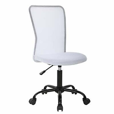 White Rolling Swivel Desk Chair Kids Computer Task Ergonomic Office Chairs