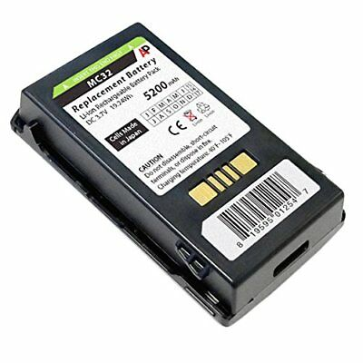 (Extended Capacity Replacement Battery for Motorola MC3200 Scanner. 5200 mAh.)