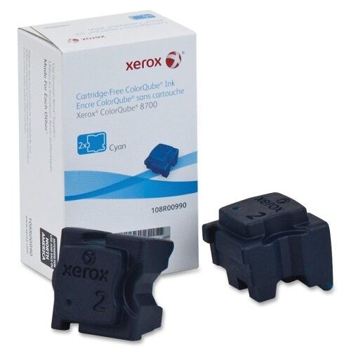 Xerox 108r00990 Xerox Solid Ink Stick - Cyan - Solid Ink - 2 / Box