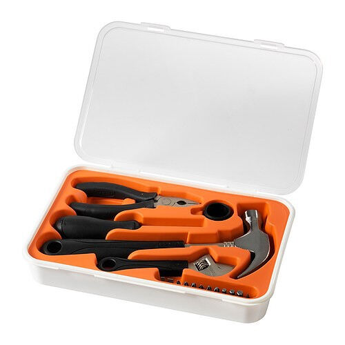 17 piece tool set FIXAIKEAin Fulham, LondonGumtree - 17 piece tool set FIXA DESCRIPTION Practical hand tools for all your basic needs at home. £4