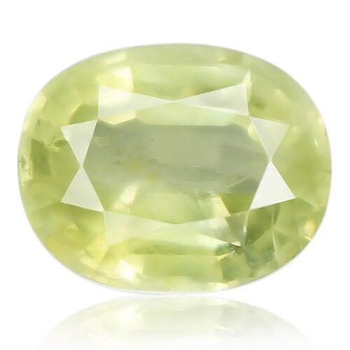 Tsavorite Family Garnet 8.17ct yellowish green color 100% natural earth mined