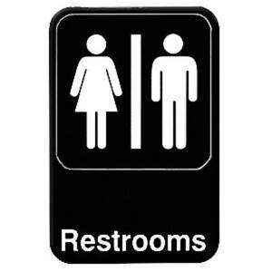 Bathroom Sign Out App bathroom sign   ebay
