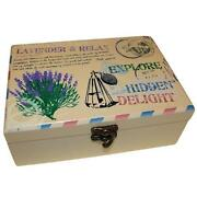 Aromatherapy Wooden Box