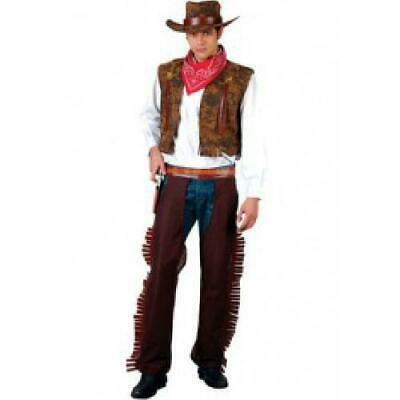 WESTERN COWBOY ADULT COSTUME FANCY DRESS UP PARTY ()