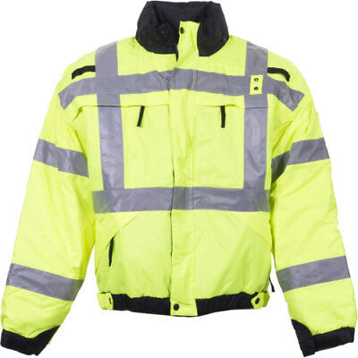 High Visibility Reversible Jacket - 5.11 Tactical 48015 High Visibility Reversible Jacket