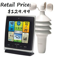 AcuRite Pro Color Weather Station with Wind Speed
