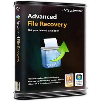 Systweak Advanced Disk Recovery,recover Accidentally Deleted Data