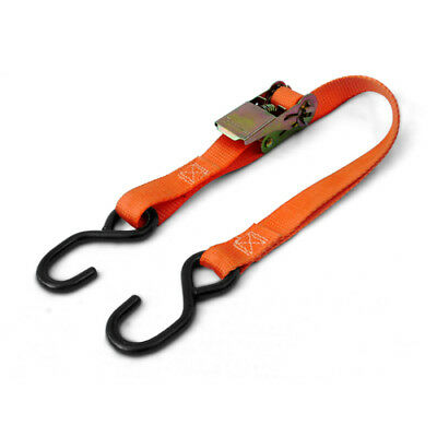 Ratchet Tie Down Lash Strap Awning Trailer Camping Roof Rack Luggage Lashing ()
