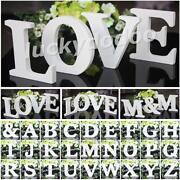 Wooden Wedding Letters