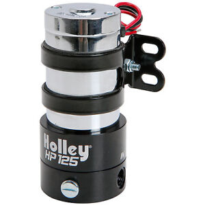 POMPE ELECTRIQUE HOLLEY 12-125 125 GALLONS RACE FUEL PUMP HOLLEY