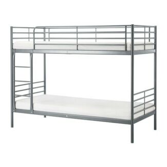 Svarta ikea bunk bed
