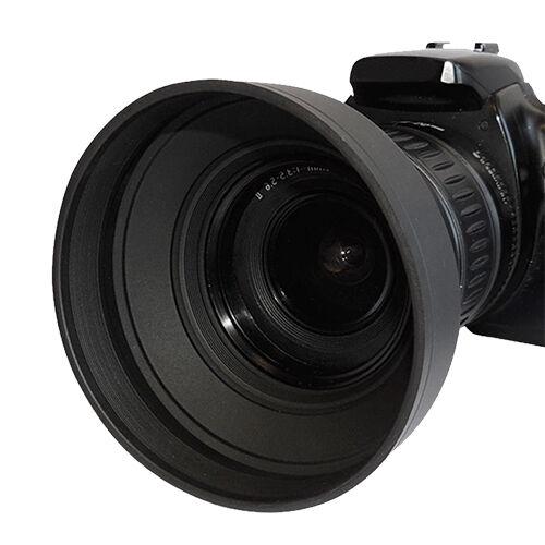52mm Pro Series Soft Rubber Lens Hood