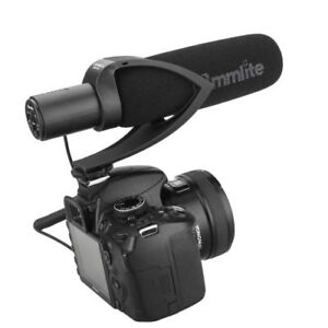 Video Microphone:Commlite CoMica CVM-V30 Condenser Shotgun Black