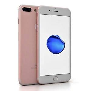 NEW SILVER AND ROSE GOLD I PHONE 7 PLUS 128 GB UNLOCKED