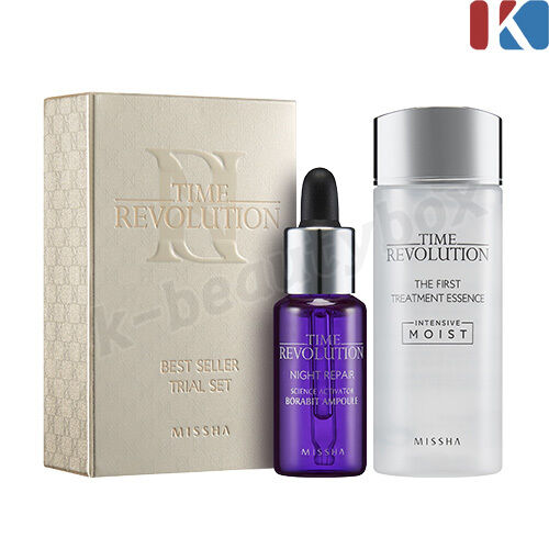 time revolution skin care treatment essence night